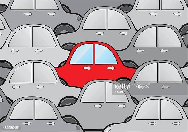 Einzigartige Auto