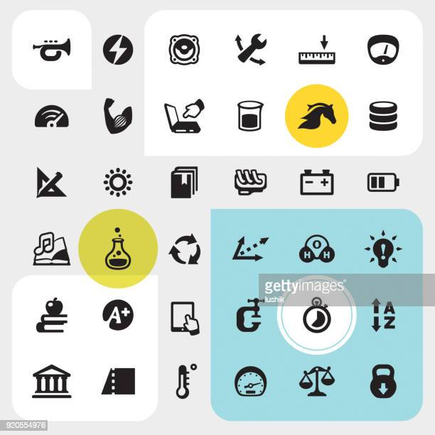 Unit Converter - interface icons pack
