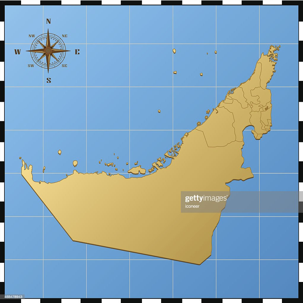 United Arab Emirates Map With Comp Rose High-Res Vector ... on morocco map, sudan map, qatar map, emirates map, syria map, iraq map, yemen map, turkey map, israel map, maldives map, western sahara map, east timor map, philippines map, kabul map, cyprus map, united college map, sri lanka map, baghdad map, bahrain map, lebanon map,