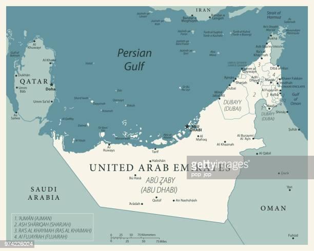 illustrazioni stock, clip art, cartoni animati e icone di tendenza di 24 - united arab emirates - vintage murena isolated 10 - paesi del golfo