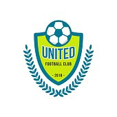 United Football Club icon Vector Template