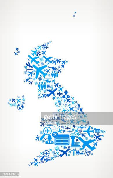 United Kingdom Aviation and Air Planes Vector Graphic