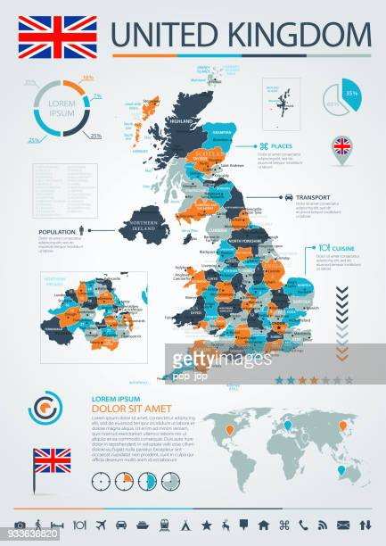 12 - United Kingdom - Blue-Orange Infographic 10