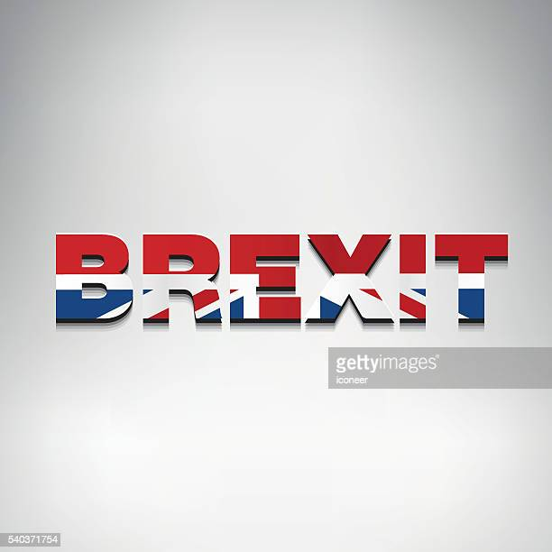 united kingdom brexit logo - brexit stock illustrations