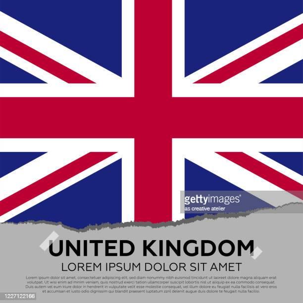 illustrations, cliparts, dessins animés et icônes de fond de drapeau de royaume-uni - drapeau anglais