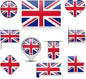 United Kingdom Flag Collection