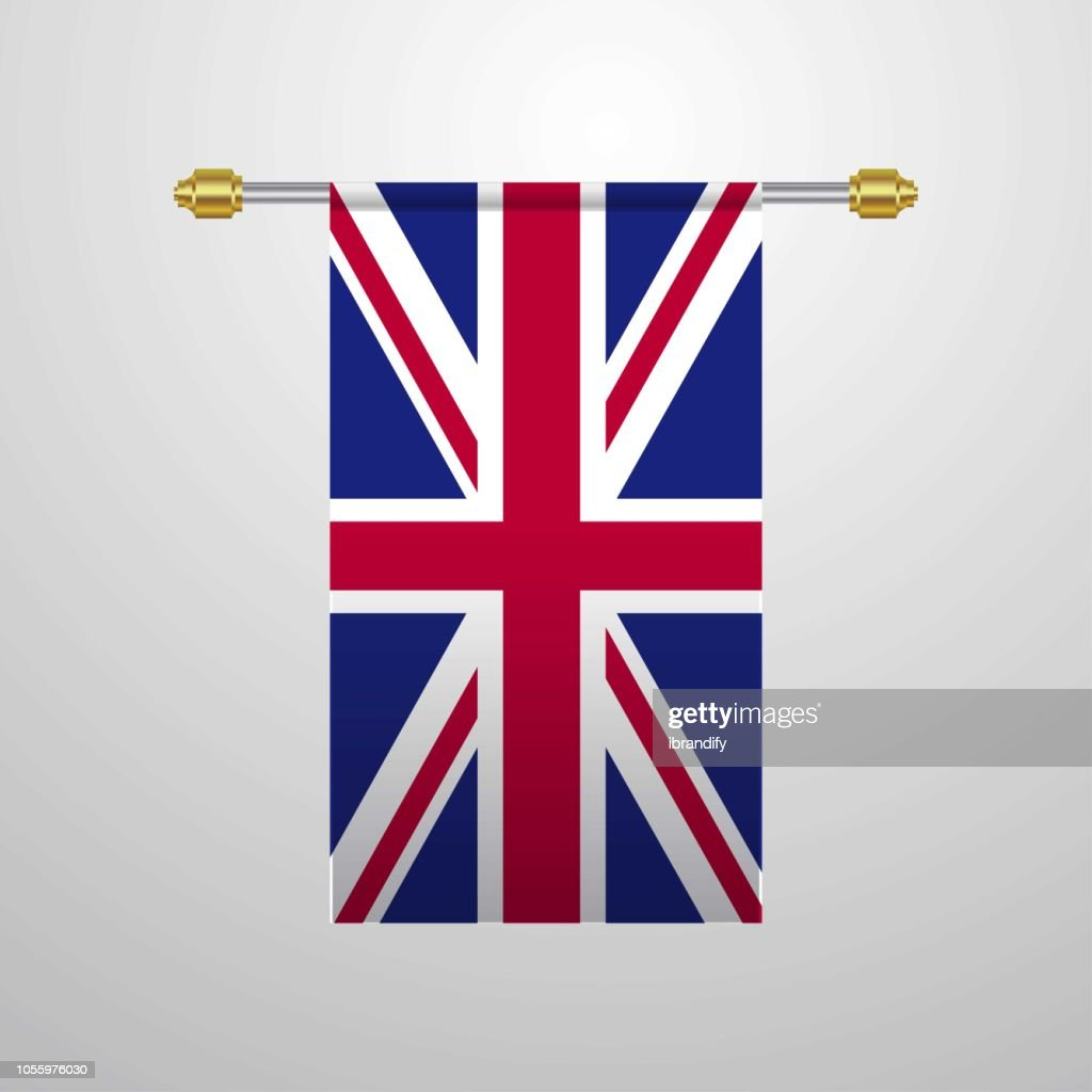 United Kingdom hanging Flag
