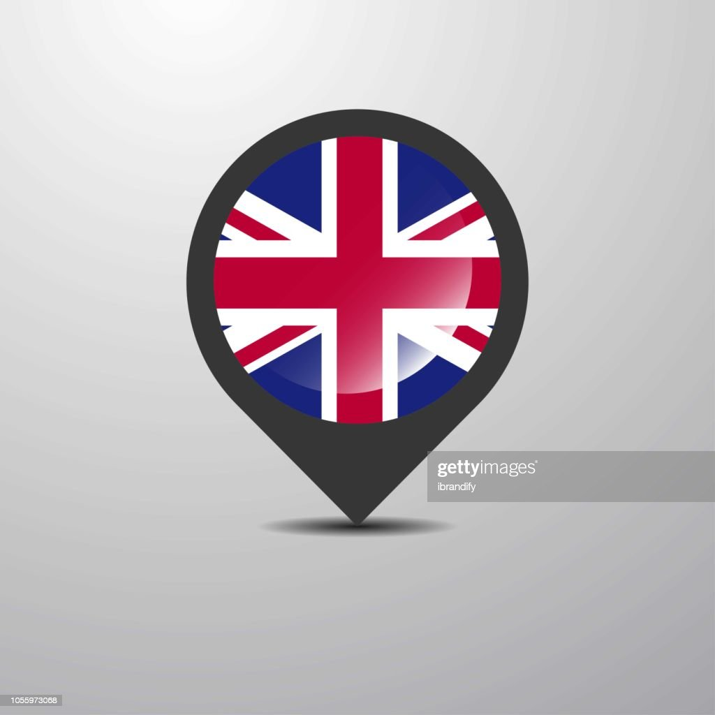 United Kingdom Map Pin