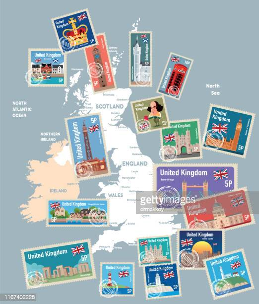 united kingdom map - megalith stock illustrations, clip art, cartoons, & icons