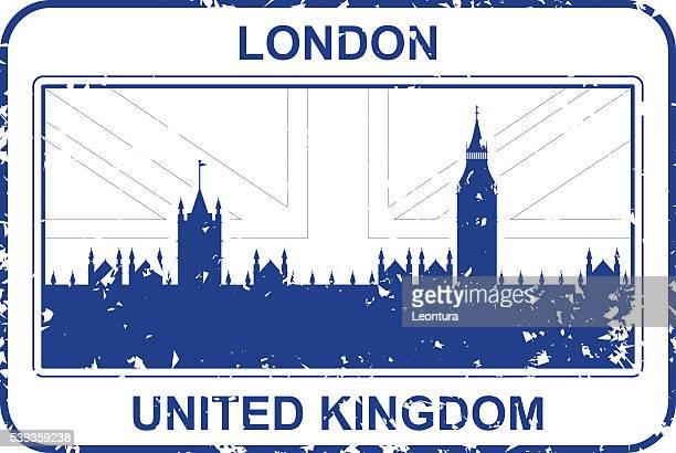 illustrations, cliparts, dessins animés et icônes de timbre royaume-uni - brexit