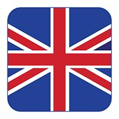 United Kingdom,of vector flag, icon sticker.