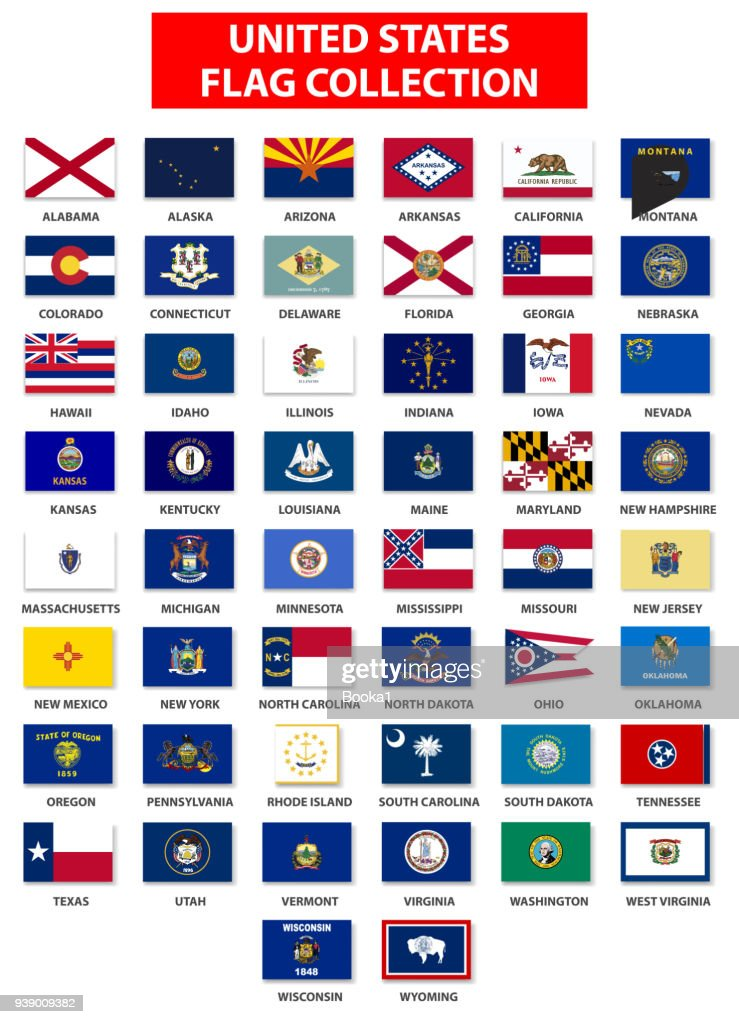 United States Flag Collection - Complete
