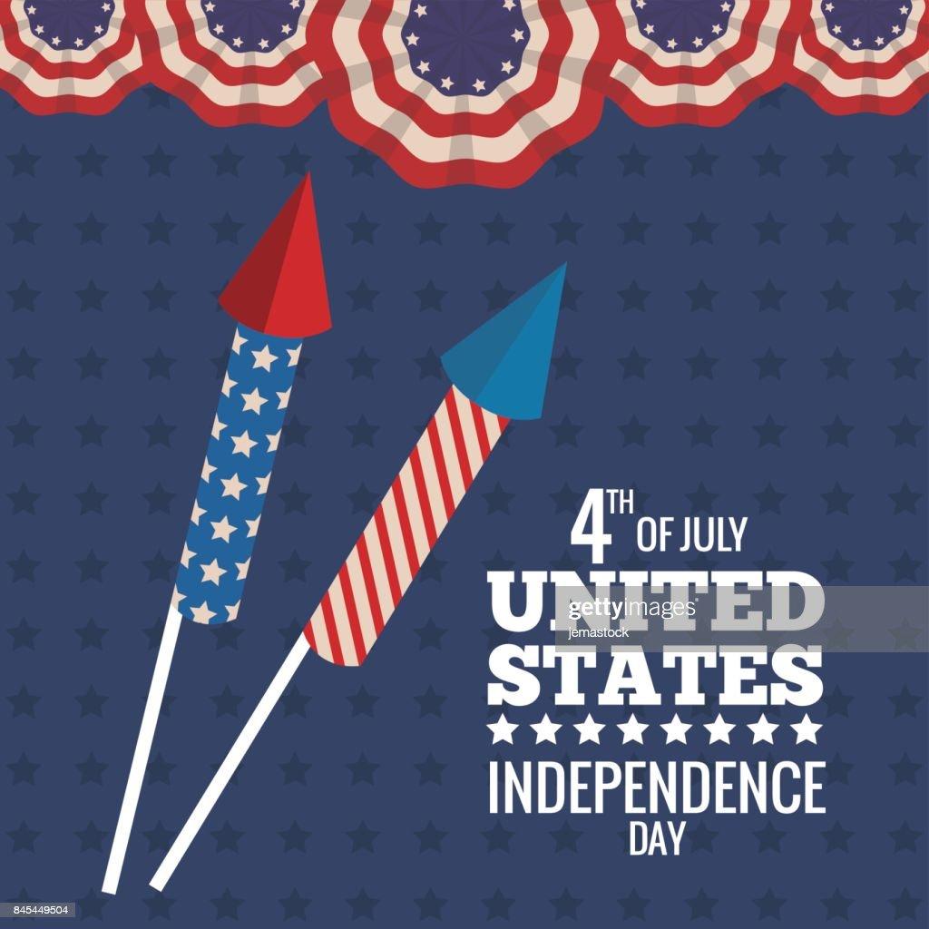 united states independence day celebration firework