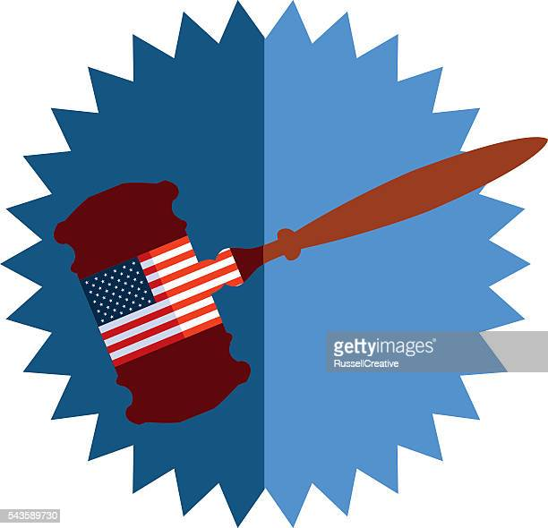 united states justice - bill of rights stock illustrations