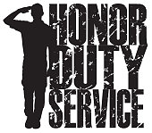 United States Military Army Soldier, Honor, Duty, Service