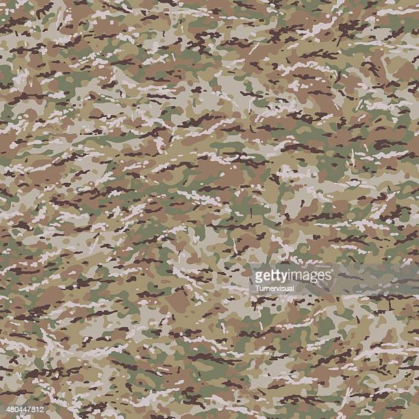 united states multicam style camouflage pattern - camouflage stock illustrations