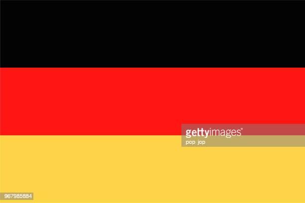 03 - vereinigte staaten - rechteck flach - deutsche flagge stock-grafiken, -clipart, -cartoons und -symbole