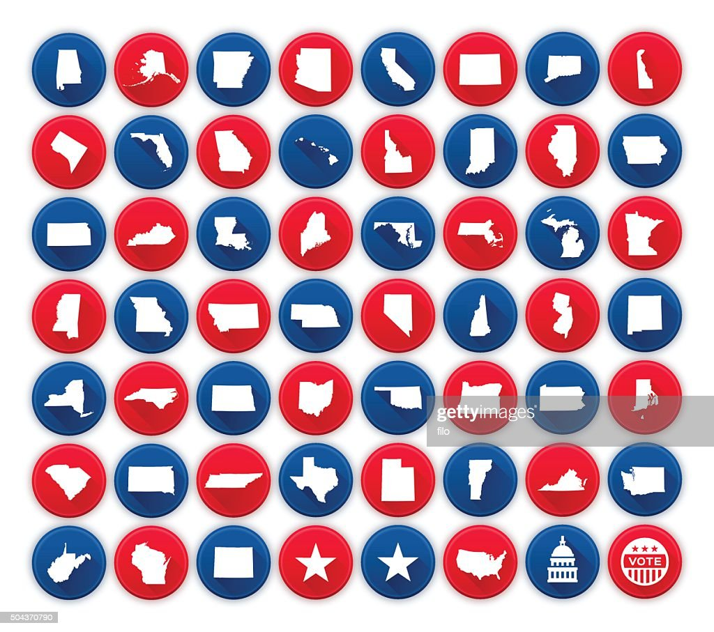 United States State Icons and Symbols