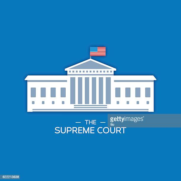 united states supreme court - courthouse stock illustrations, clip art, cartoons, & icons