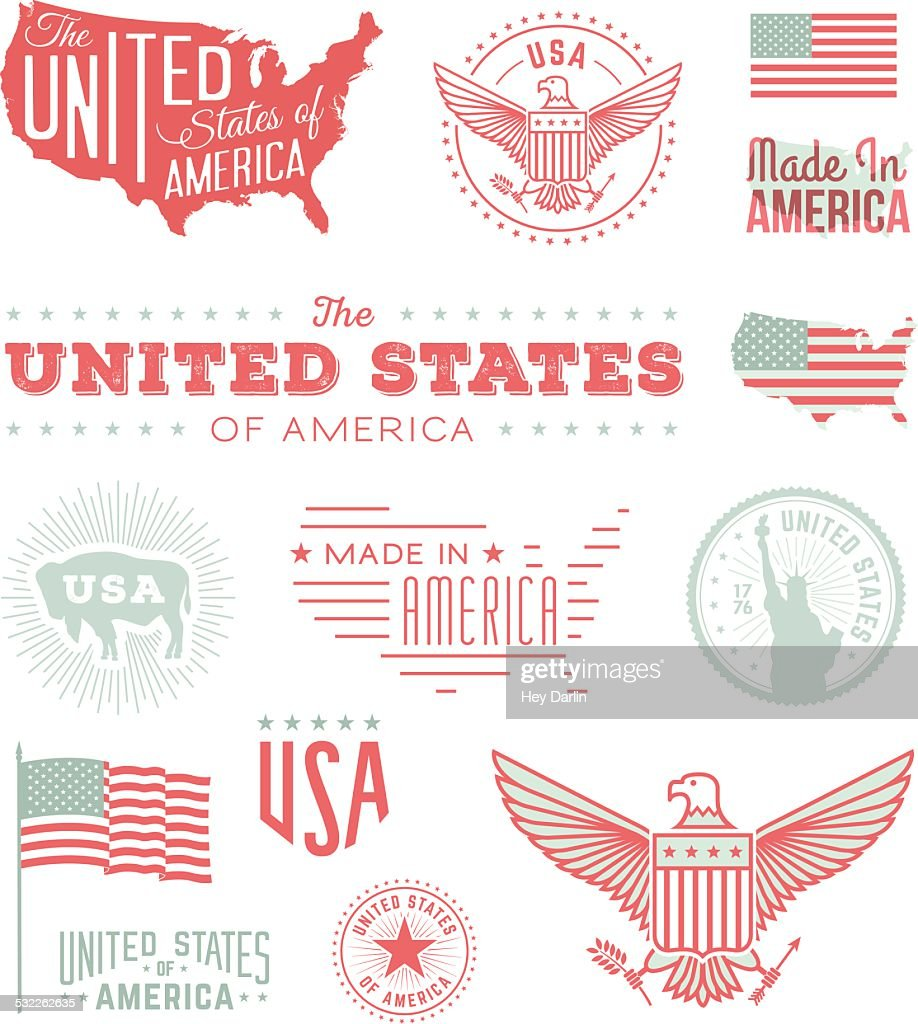 United States Typography