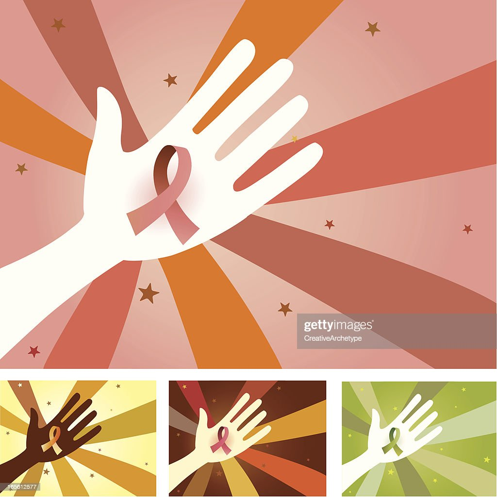 Unity Hands - Ribbon for Cause