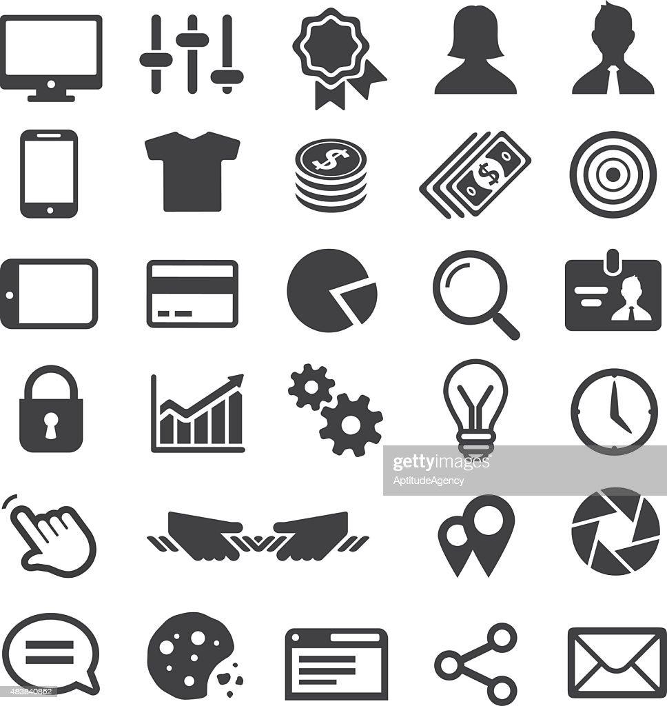 Universal Business icon set.