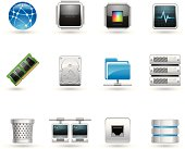 Universal icons - Hosting