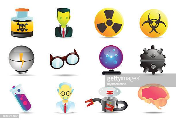 Universal icons | mad science