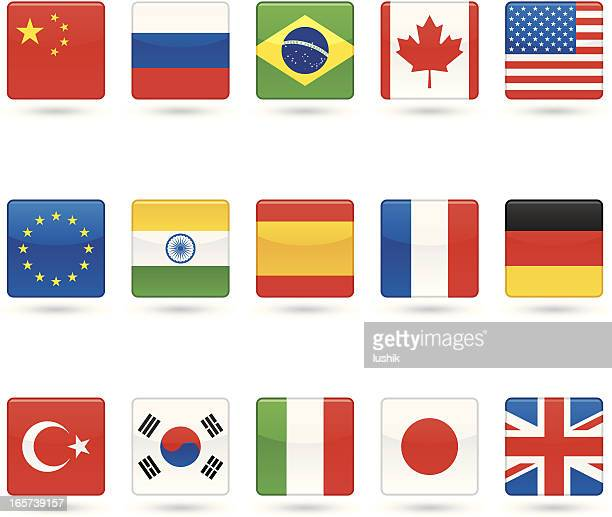 Universal icons - National Flags
