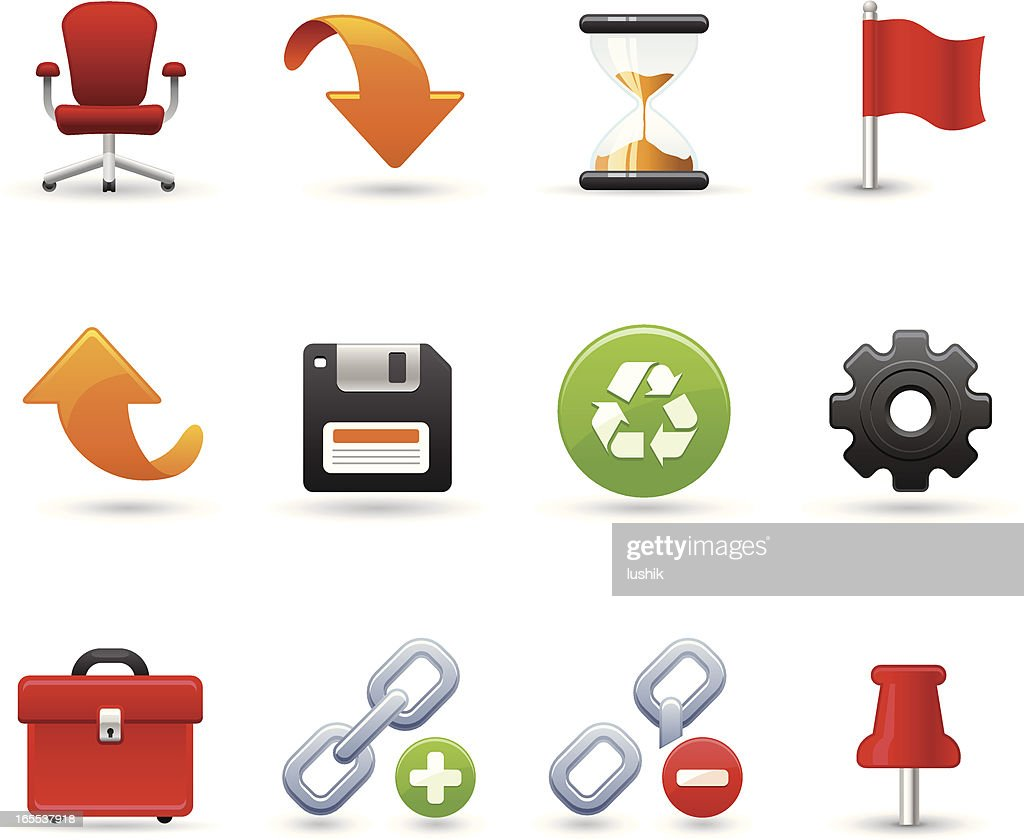 Universal icons - Office tools