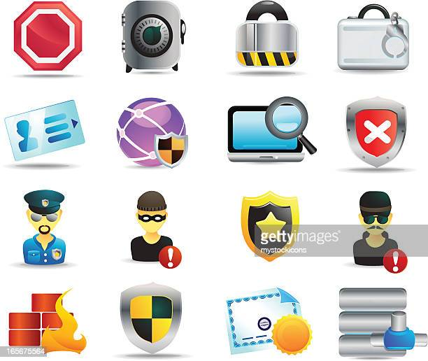 universal icons | security - cardkey stock illustrations, clip art, cartoons, & icons