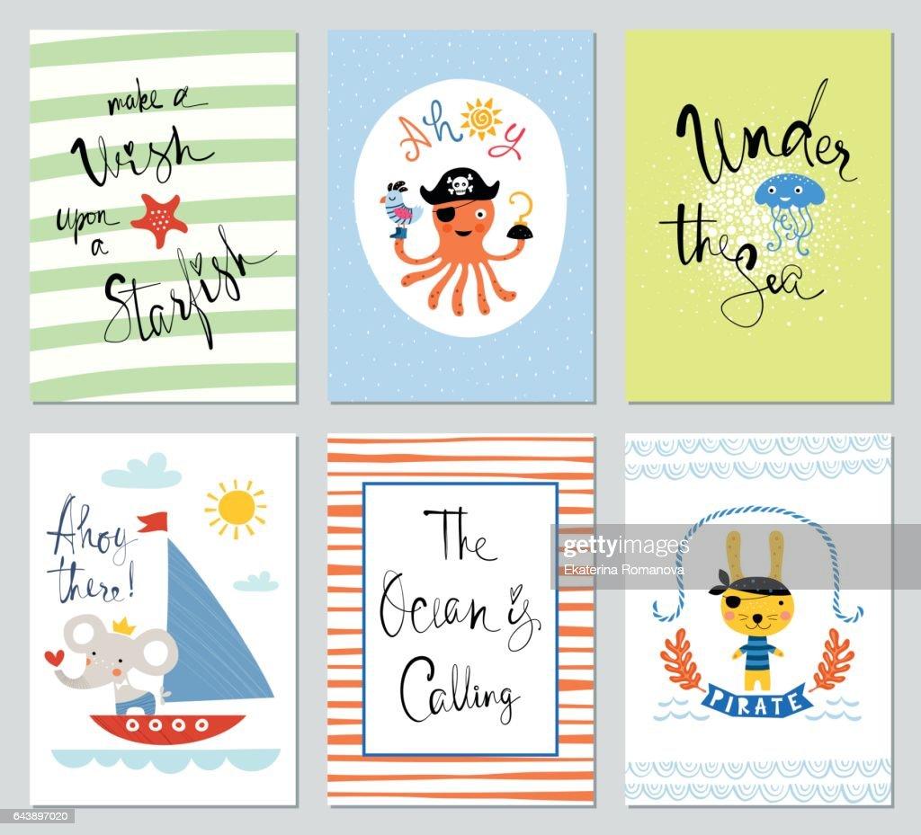 Universal Kids Cards Set