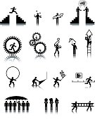 Universal Man Icons (vectored)