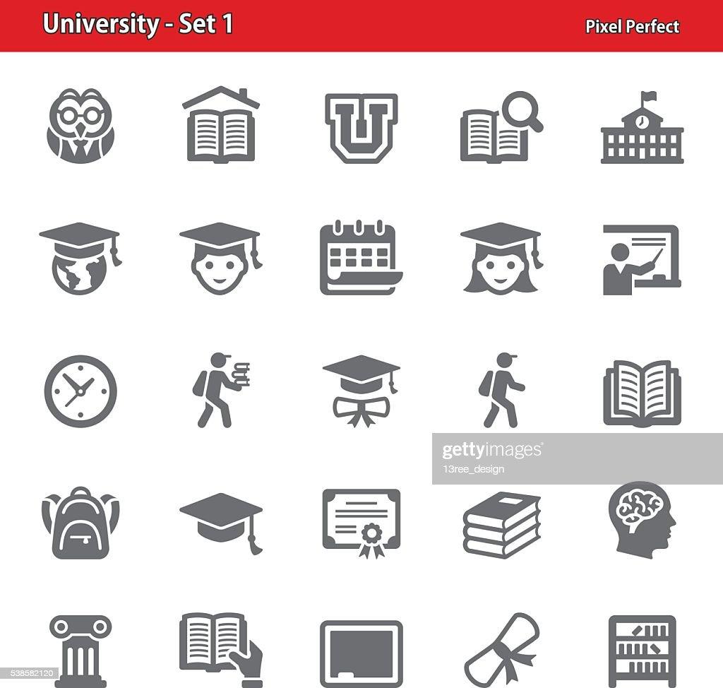 University Icons - Set 1