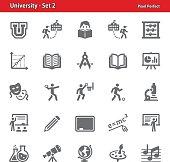 University Icons - Set 2