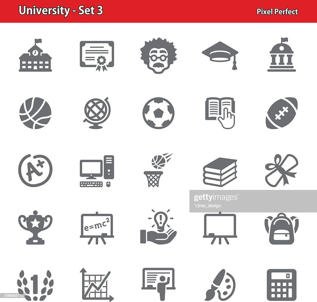 University Icons - Set 3
