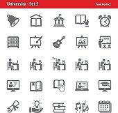 University Icons - Set 5