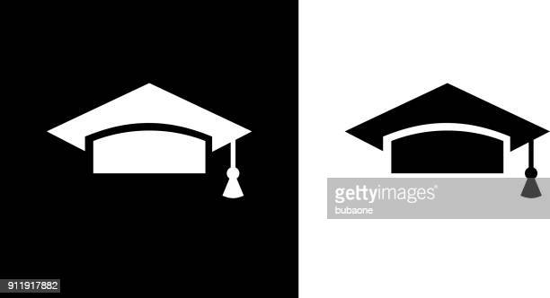 university mortarboard. - hat stock illustrations