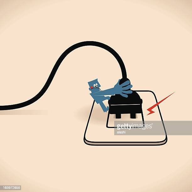 Unplug the power cable from outlet