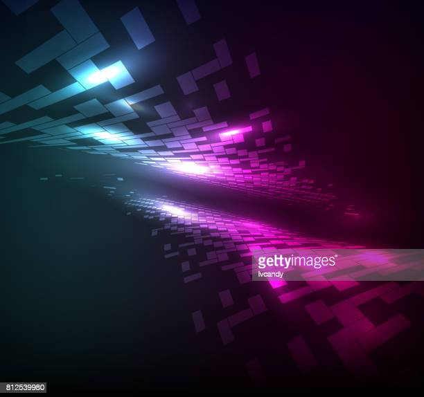 Unreal abstract background