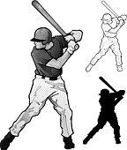 Up to bat! (Baseball Vector)