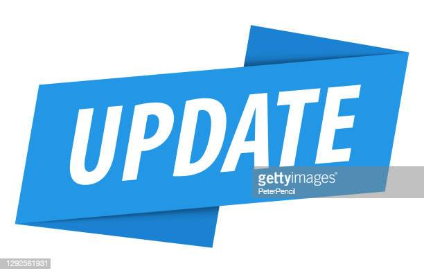 更新 - バナー、吹き出し、ラベル、リボンテンプレート。ベクトルストックの図 - 最新情報点のイラスト素材/クリップアート素材/マンガ素材/アイコン素材