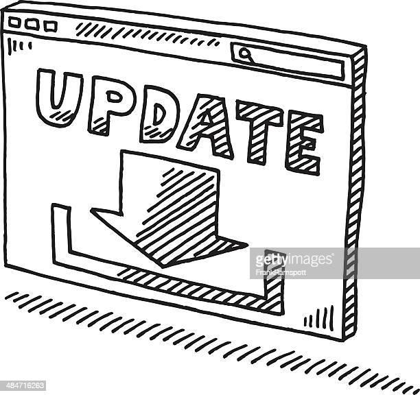 ウィンドウの図記号の更新をダウンロード - ソフトウェアアップデート点のイラスト素材/クリップアート素材/マンガ素材/アイコン素材