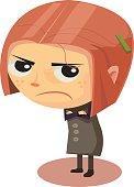 Upset/Angry Girl