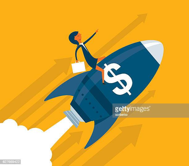 uptrend - incentive stock illustrations, clip art, cartoons, & icons