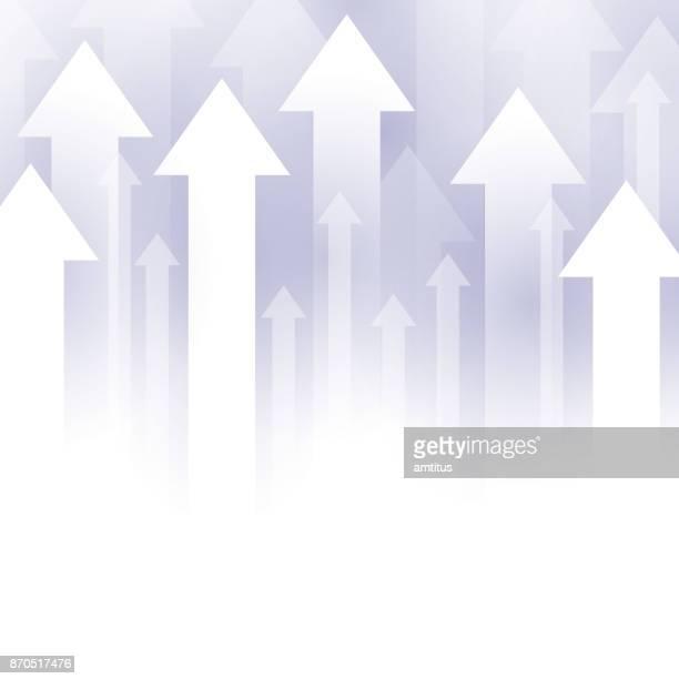 upward arrows - tall high stock illustrations