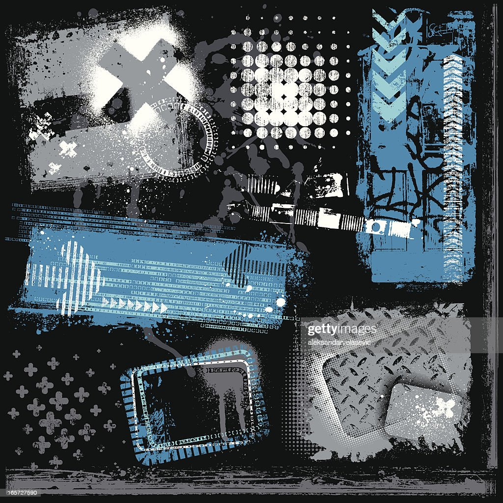 Urban Grunge Elements