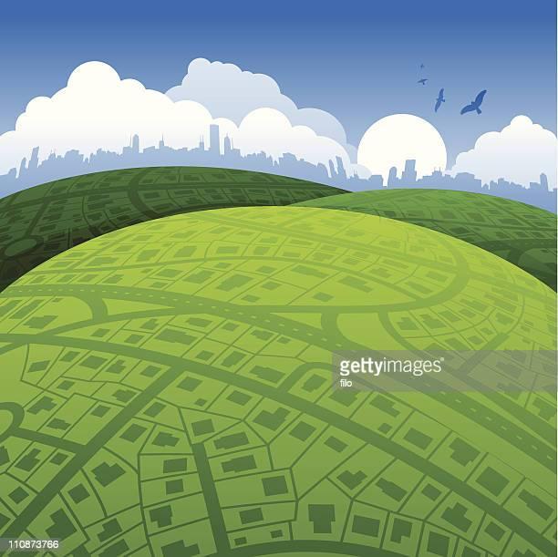 Urban World Background