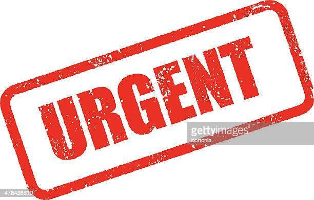 urgent rubber stamp ink imprint icon (transparent background) - urgency stock illustrations