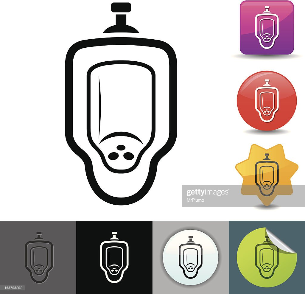 Urinal icon | solicosi series